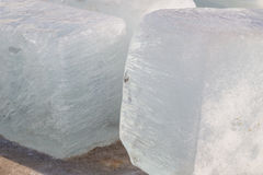 Blocks of ice Stock Photos