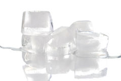 Blocks of ice Royalty Free Stock Photos