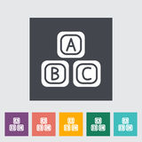 Blocks icon. Flat vector related icon for web and mobile applications. It can be used as - logo, pictogram, icon, infographic element. Vector Illustration vector illustration