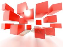 Blocks illustration Royalty Free Stock Images