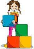 Blocks Kid Stock Image