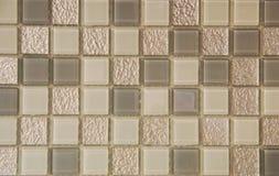 Blocks mosaic. Abstract blocks background (fragment of wall furnish Royalty Free Stock Photos