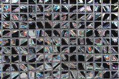 Blocks mosaic Stock Image