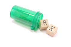 blocks pill rx Στοκ φωτογραφίες με δικαίωμα ελεύθερης χρήσης