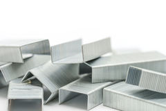 Blocks of staples Stock Images