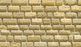 Blocks of stone ashlar Royalty Free Stock Photos