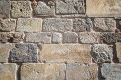 Blocks of stone background Stock Photography
