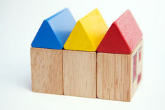 Blocks Terraced Stock Image