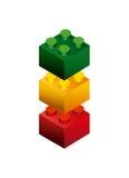 Blocks to build design Royalty Free Stock Photos