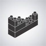 Blocks to build design. Illustration eps10 graphic Stock Image