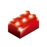 Blocks to build design. Illustration eps10 graphic Royalty Free Stock Photography