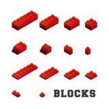 Blocks to build design. Illustration eps10 graphic Stock Photos