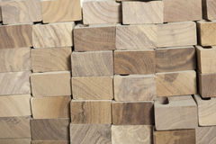 Blocks Of Wood Stock Image