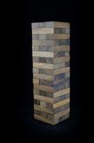 Blocks of wood isolated Royalty Free Stock Photography