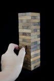 Blocks of wood isolated Royalty Free Stock Photos