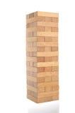 Blocks of wood, isolated. Stock Photo