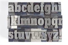 Blockschrift Lizenzfreie Stockbilder