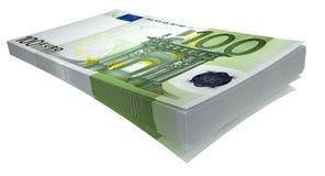 blockskiva för euro 2 Arkivbild