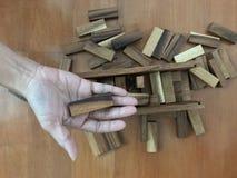 Blockspiel Stockfotografie