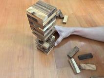 Blockspiel Lizenzfreie Stockfotos