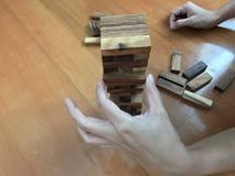 Blockspiel Stockfotos