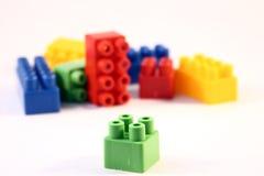 Blockspielwaren Lizenzfreie Stockfotos