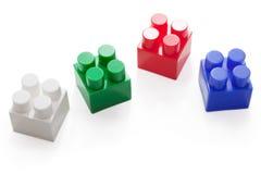 Blockspielzeug Lizenzfreie Stockfotos