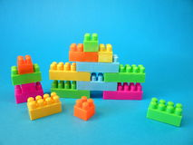 Blockspielzeug Stockfoto
