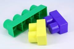 Blockspielzeug Lizenzfreie Stockbilder