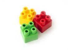 Blockspielzeug Lizenzfreies Stockfoto