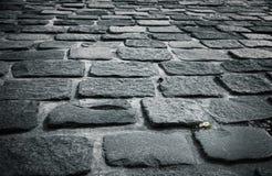 blocktrottoarsten royaltyfri fotografi