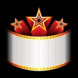 blockubuster gwiazdy Zdjęcia Royalty Free