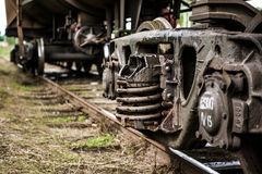 Blockwagen Stockfotos