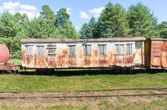 Blockwagen einer verlassenen Serie Lizenzfreie Stockbilder