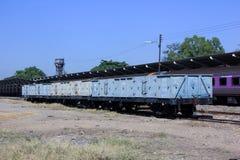 Blockwagen-hoher mit Seiten versehener Lastwagen Stockfotos