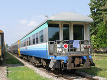 Blockwagen-Sonderzug an Bahnhof Chiangmai Lizenzfreie Stockfotos