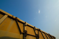 Blockwagen-Trichter-Lastwagen Lizenzfreies Stockbild