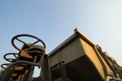 Blockwagen-Trichter-Lastwagen Lizenzfreie Stockfotografie