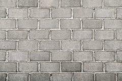 Blockwand Stockfoto