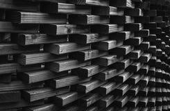 Blockwand bei Daniel Stowe Botanical Garden Lizenzfreie Stockfotografie