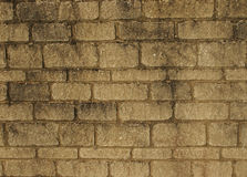 Blockwork wall for background Royalty Free Stock Photography