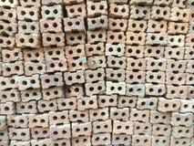 Blockziegelstein-Musterhintergrund Stockbilder