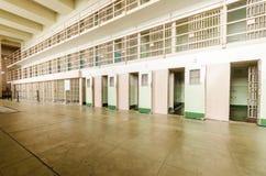 Bloco Cellhouse de Alcatraz D, San Francisco, Califórnia Imagem de Stock Royalty Free