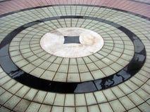 Bloco circular assoalho pavimentado   Fotografia de Stock Royalty Free