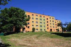 Bloco de apartamentos Foto de Stock Royalty Free
