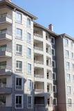 Bloco de apartamentos Imagem de Stock Royalty Free