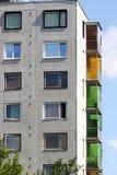 Bloco de apartamentos imagens de stock royalty free
