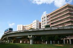 Bloco de apartamentos Fotos de Stock