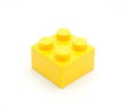 Bloco de apartamentos de Lego Plastic Fotografia de Stock Royalty Free