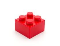 Bloco de apartamentos de Lego Plastic Fotos de Stock Royalty Free